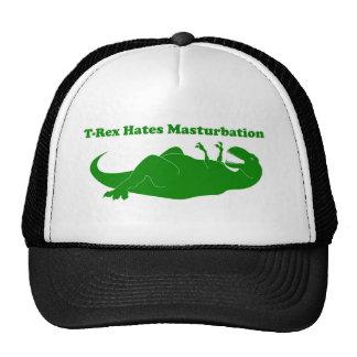 T-rex Hates Masturbation Trucker Hat