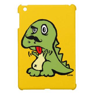 T-rex hates mustache iPad mini cover