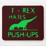 T REX HATES PUSHUPS Funny Dino Design