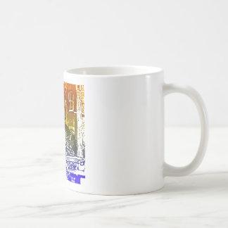 T-Rex in a tophat Basic White Mug