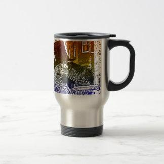 T-Rex in a tophat Mugs