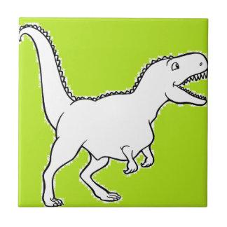 T-Rex-ing Ceramic Tiles