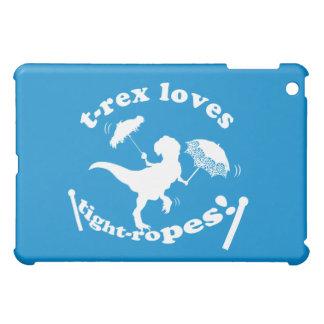 T-Rex Loves Tightropes! iPad Mini Cases