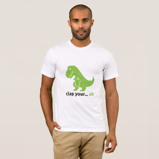 T-Rex Men's Basic American Apparel T-Shirt