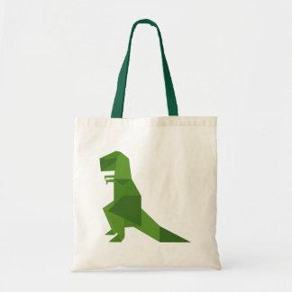 T-Rex Origami Tote Bag