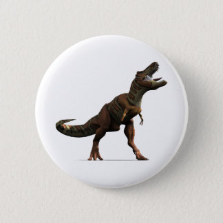 T-rex Roar 6 Cm Round Badge