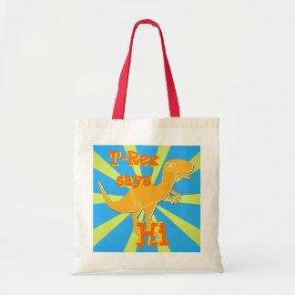 T-Rex says Hi Gift Bag