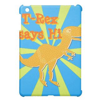T-Rex says Hi iPad Case