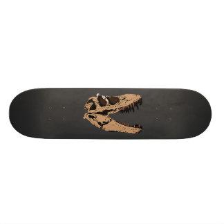 T-Rex Skull Skate Deck