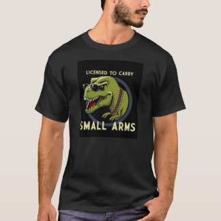 T-Rex Small Arms Tee Shirt