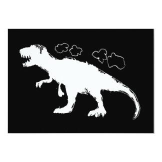 T-Rex Solid 13 Cm X 18 Cm Invitation Card