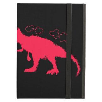 T-Rex Solid #FF0033 iPad Cases