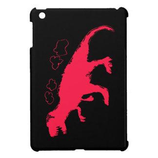 T-Rex Solid #FF0033 iPad Mini Case
