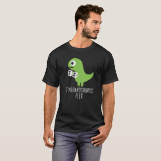 T Rex T Shirt Tyrannosaurus Flex