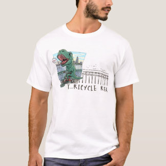 T Rex Tricycle T-Shirt