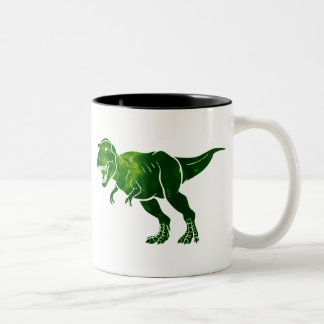 T-Rex Two-Tone Coffee Mug