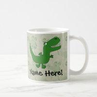 T-Rex Dinosaur Coffee Mug