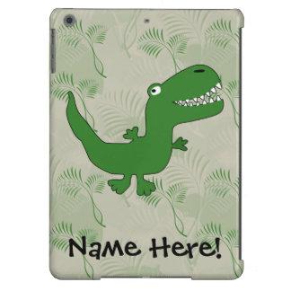 T-Rex Tyrannosaurus Rex Dinosaur Cartoon Kids Boys Cover For iPad Air