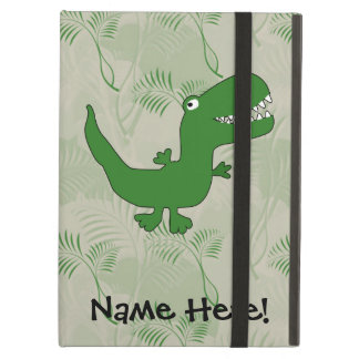 T-Rex Tyrannosaurus Rex Dinosaur Cartoon Kids Boys iPad Air Cover