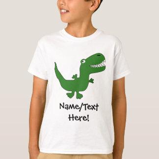 T-Rex Tyrannosaurus Rex Dinosaur Cartoon Kids Boys T-Shirt