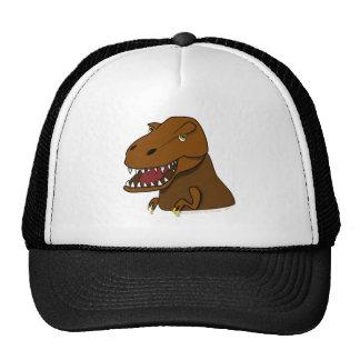 T-Rex Tyrannosaurus Rex Scary Cartoon Dinosaur Mesh Hat