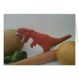 T-Rex Valentine's Card