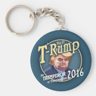T-Rump 2016! Basic Round Button Key Ring