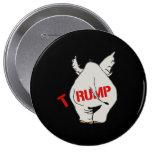 T-RUMP - Trump Elephant - 10 Cm Round Badge
