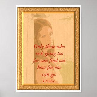 T.S Eliot _ Poster quote