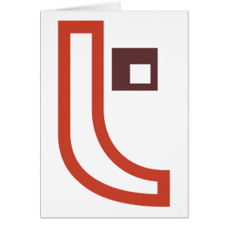 T Shape Greeting Cards