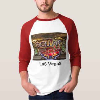 T-Shirt, 3/4 Raglan, LA$ VEGA$ T-Shirt