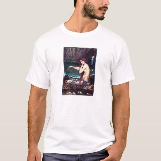 T-Shirt:  A Mermaid - John Waterhouse T-Shirt