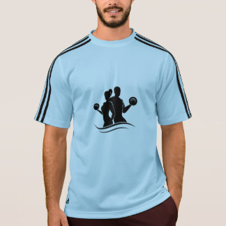 T-shirt Adidas Masculine, Blue and Black