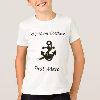 T-Shirt - Anchor, ship name