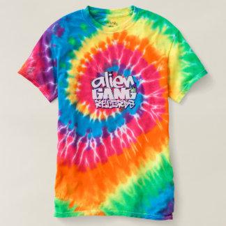 T-shirt Arco Iries Alien Gang. Records