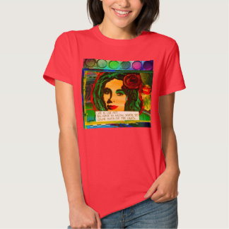T-SHIRT-ART IS LIKE LIFE-YOU HAVE TO KNOW TSHIRTS