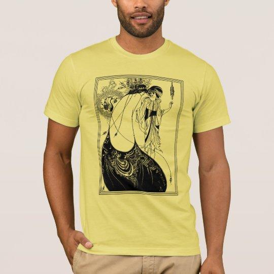 T-Shirt:  Aubrey Beardsley - The Peacock Skirt T-Shirt