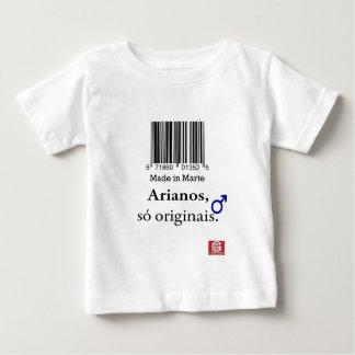 """T-shirt baby """"Aryan Made in Mars """""""