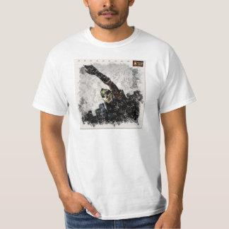 T-shirt Backward Spectro Man Scribble