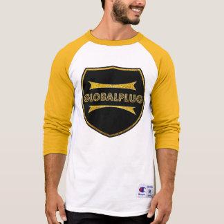 T-Shirt Baseball globalplug gold design