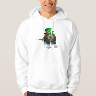 T-Shirt Basset Hound Happy St. Patrick's