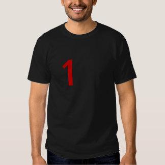 T-shirt Black Number one Desing