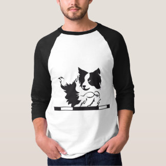 T-shirt Border collie Agility