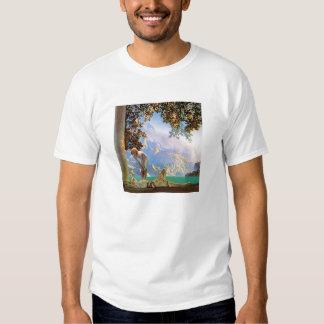 T-Shirt: Daybreak - by Maxfield Parrish T-shirt