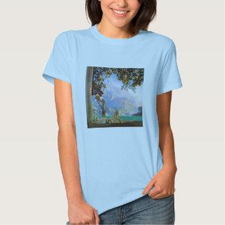 T-Shirt: Daybreak - by Maxfield Parrish Tee Shirts