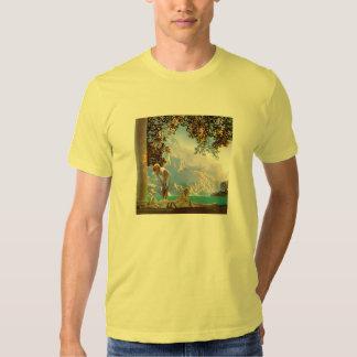 T-Shirt: Daybreak - by Maxfield Parrish Tshirts