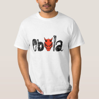 T-Shirt ebola Red devil Fear World Epidemic