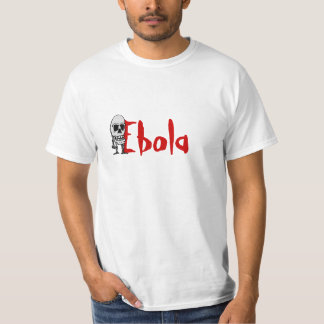 T-Shirt ebola Skeleton Scare Fear World Pandemic