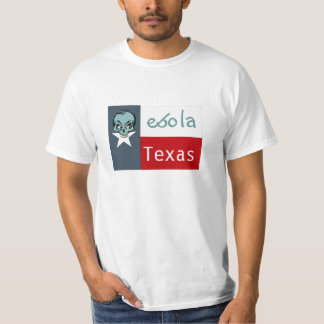 T-Shirt ebola Skull Disease Pandemic Texas Dallas