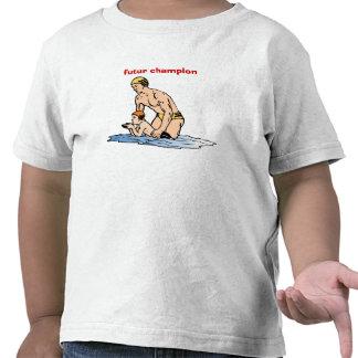 t-shirt enfant nageur